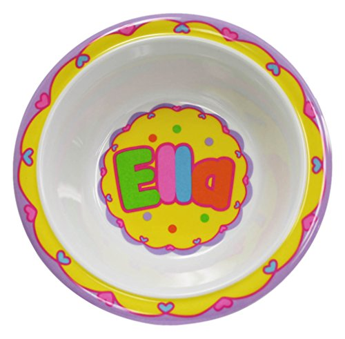 My Name Bowls Ella USA Personalized Bowl