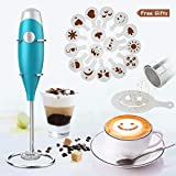 GRUNEN WOLKEN Milk Frother Handheld Get Froth in