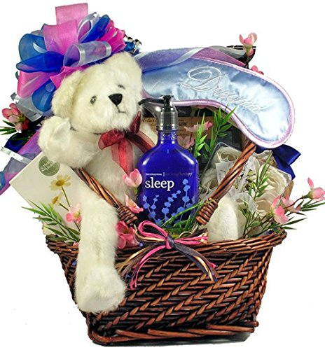 Relax and Renew Spa and Sweets Gift Basket