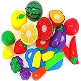 Kid Educational Toy,BeautyVan 1 Set Cutting Fruit Vegetable Pretend Play Children Kid Educational Toy