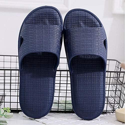GYMAA Hausschuhe Herren Sandalen rutschfeste Duschschuhe Badezimmerschuhe