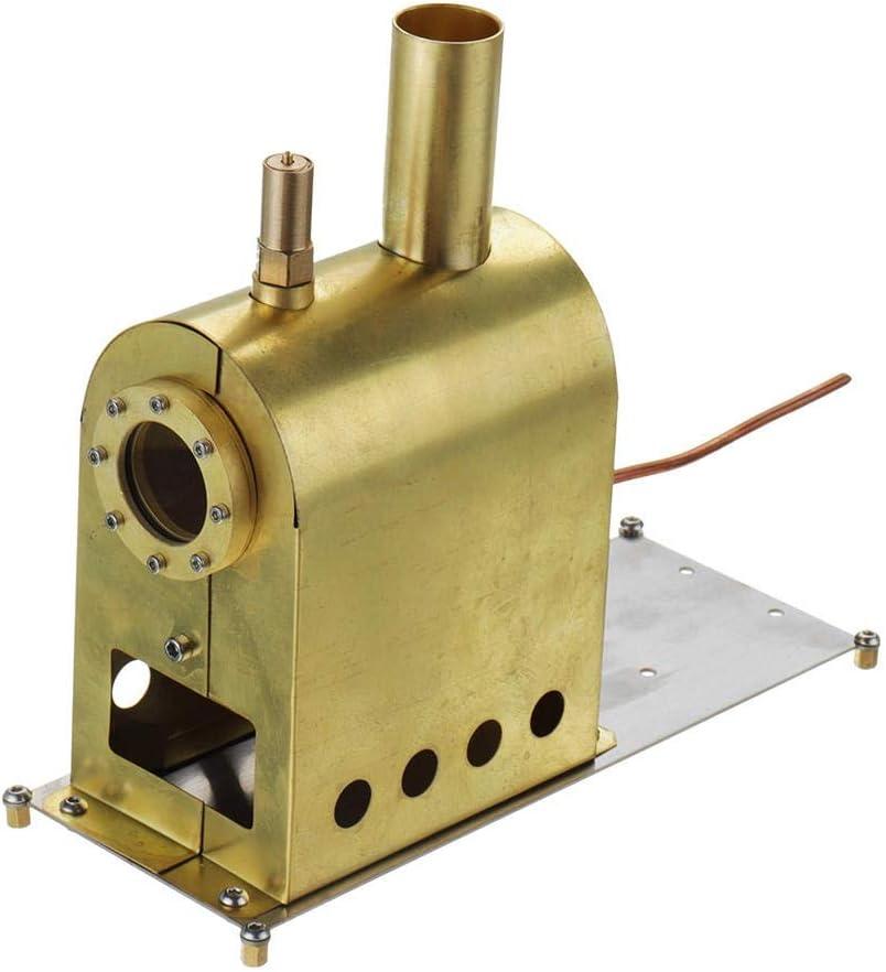 Modelo De Motor De Juguete Motor Stirling Escala Micro Steam Boiler Modelo For G-1B De La Caldera De Vapor De Modelo Juguete Educativo Generador De Electricidad ( Color : Gold , Size : One size )