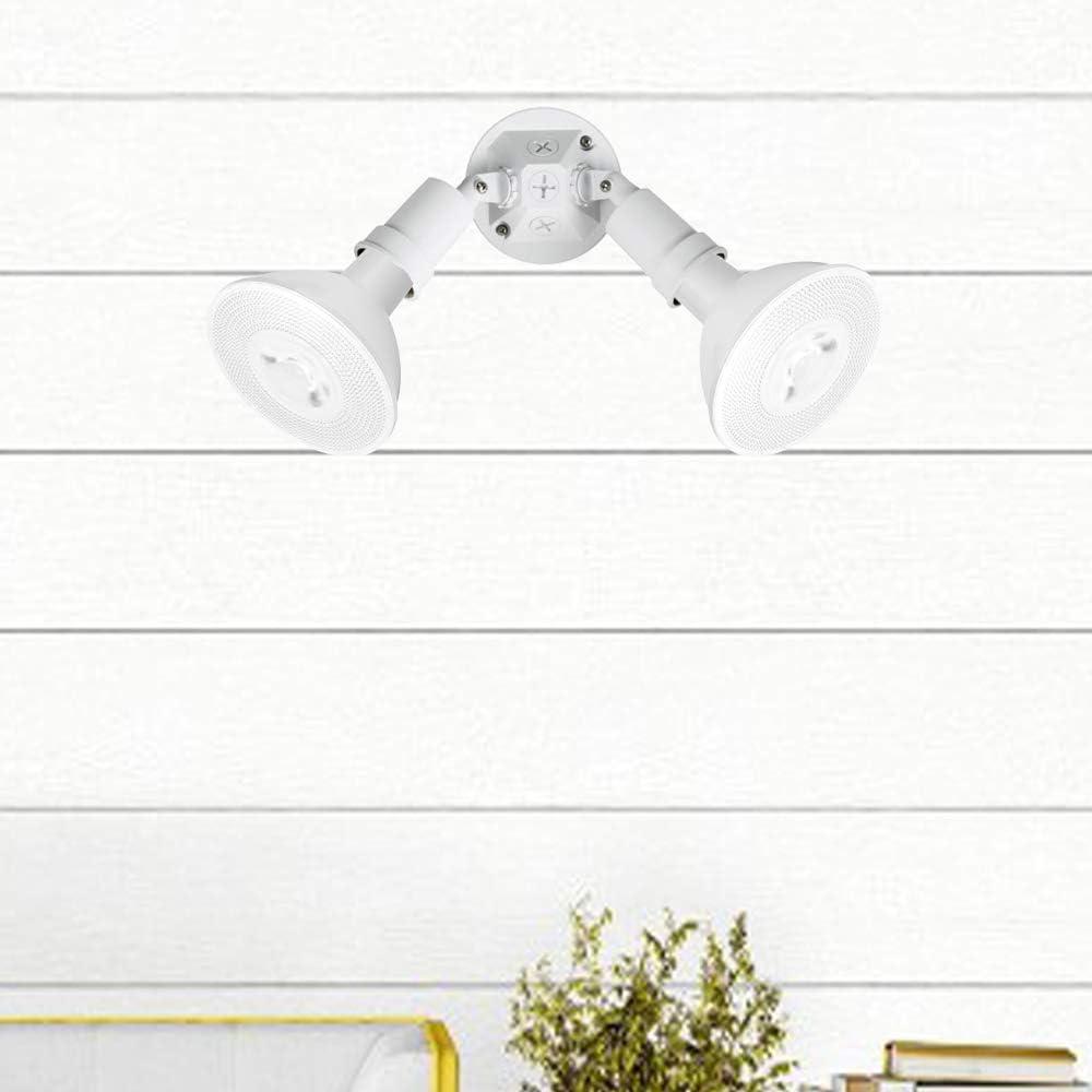 Dimmable 7W Spot Light Bulbs 50W Halogen Bulb Equivalent 5000K Daylight White 600 Lumens E26 40 Degree 6-Pack PAR20 LED Flood Bulbs Indoor Recessed Track Lighting