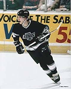 Luc Robitaille Los Angeles Kings Unsigned Hockey Photo