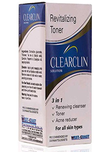 Clearclin Acne Prevention Solution, 60ml