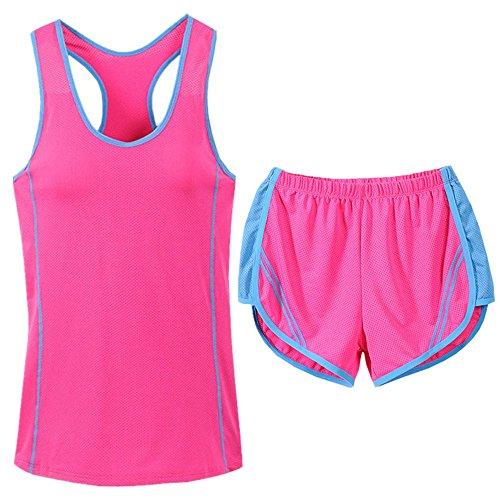 VENMO Deportes de Ocio de las Mujeres de Verano Pantalones Cortos traje rosa caliente
