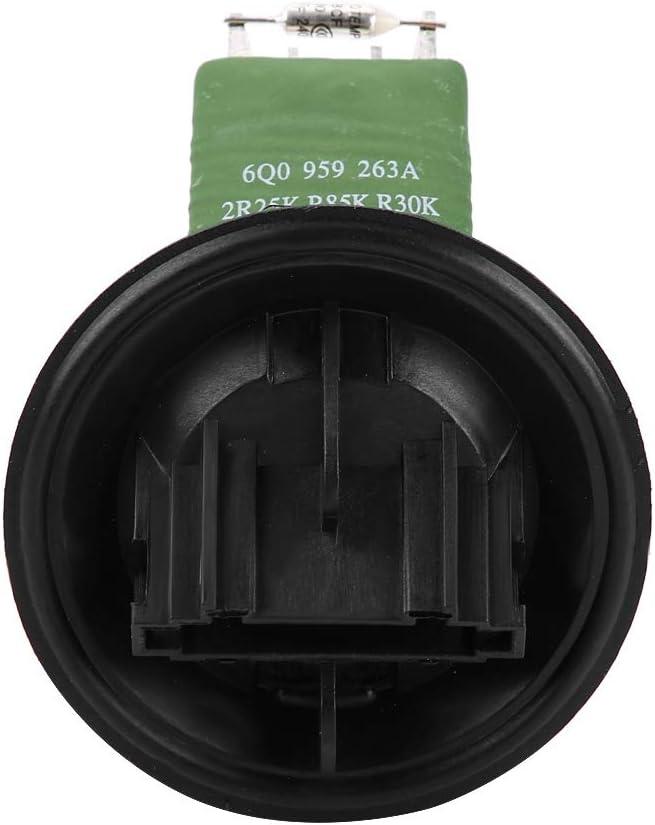 Resistencia del motor del ventilador Keenso M/ódulo de control de temperatura de la resistencia del motor del ventilador para A1 A2 6q0959263A