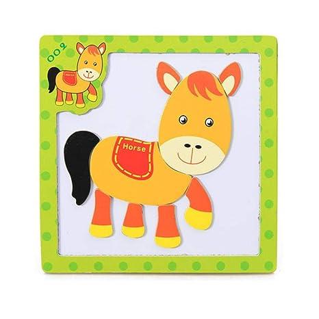 Amazon.com: Roysberry Toys – Puzzle de madera con forma de ...