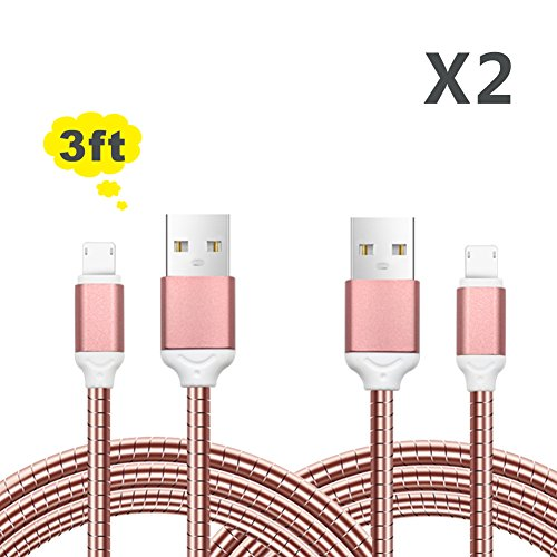 2pack-2-in-1-cable-lightning-and-micro-usb-cable-33-ft-yofew-all-metal-sync-and-charging-cable-cord-