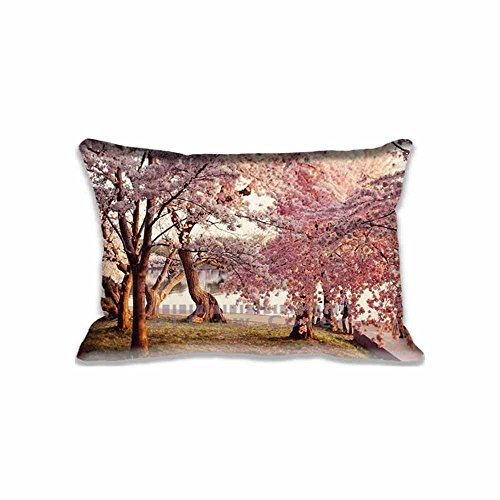 ArtsLifes Cherry Blossom Pillowcase inch Two Sides Comfortable Zippered Pillow Cover Cases for Kids Family Gift