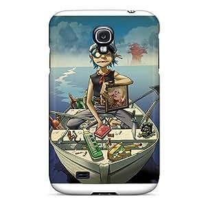 Samsung Galaxy S4 UvA8444mXjL Provide Private Custom Realistic Gorillaz Band Skin Best Hard Phone Case -CharlesPoirier