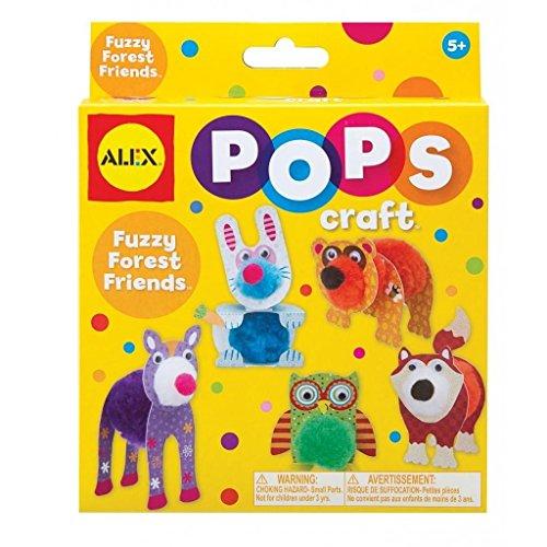 ALEX Toys POPS Craft Fuzzy Forest Friends