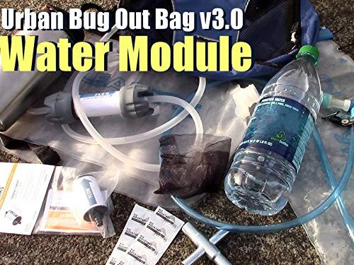 Water Module - Urban Bug Out Bag Version 3.0