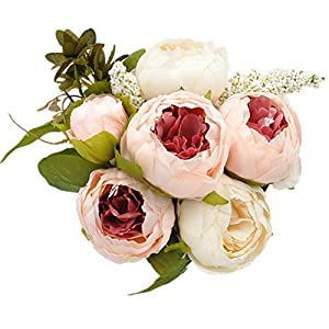 Artificial Flowers Arrangements Peony