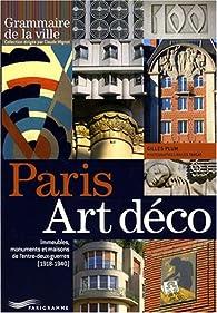 Paris Art déco par Gilles Plum