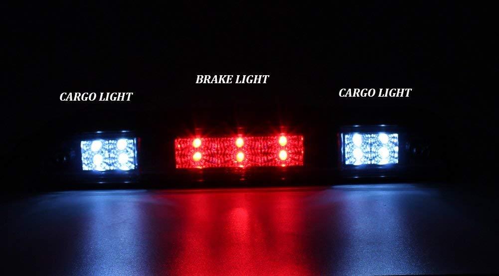 Jinfili Rear Led 3rd Brake Light High Mount Trailer Cargo Lamp for Ford F150 94-96 F250 F350 94-97 Bronco 92-96
