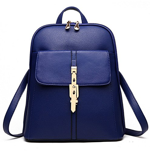 Flada - Bolso mochila  para mujer azul azul mediano azul