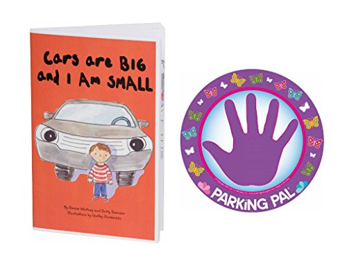 Parking Pal Car Magnet and Children's Safety Book (Butterfly)
