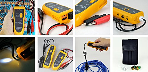 Network Cable Locator : Tekit nf i yellow color underground wire