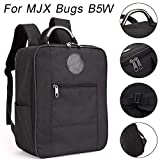 Gbell for MJX Bug B5W Shoulder Bag - Portable Shockproof Waterproof Durable Carrying Protective Storage Bag,Durable EVA+300D Polyester (Black)