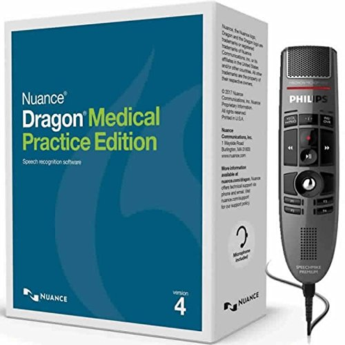 Dragon Medical Practice Edition 4 with Philips