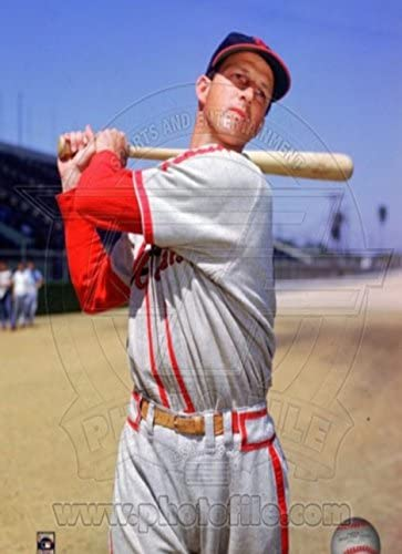 Stan Musial Posed Photo Sport Poster