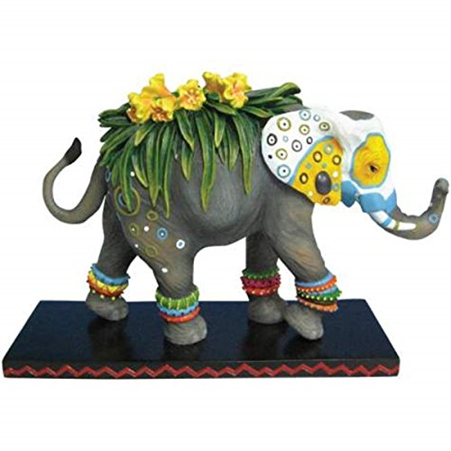 westland-giftware-tusk-elephants-painted-flower-decorated-6-hand-painted-resin-elephant-figurine