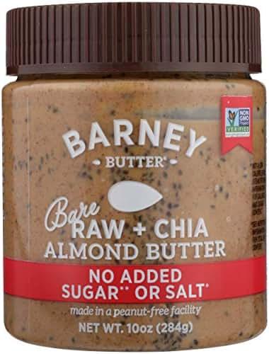 Peanut & Nut Butters: Barney Butter Almond Butter Raw + Chia
