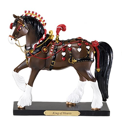 (Retired Trail of Painted Ponies *King of Hearts* Pony Figurine)