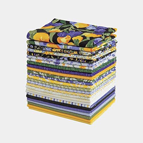 Connecting Threads Print Collection Precut Quilting Fabric Bundle Fat Quarters (Regelia)