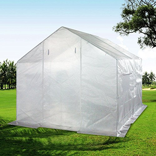Limited time & Qty Sale! Quictent® 10' X 9' X 8' Portable Greenhouse Large Walk-in Green Garden Hot House High Quality Gift