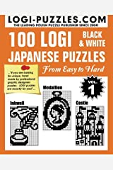 100 LOGI Black & White Japanese Puzzles: Easy to Hard Paperback