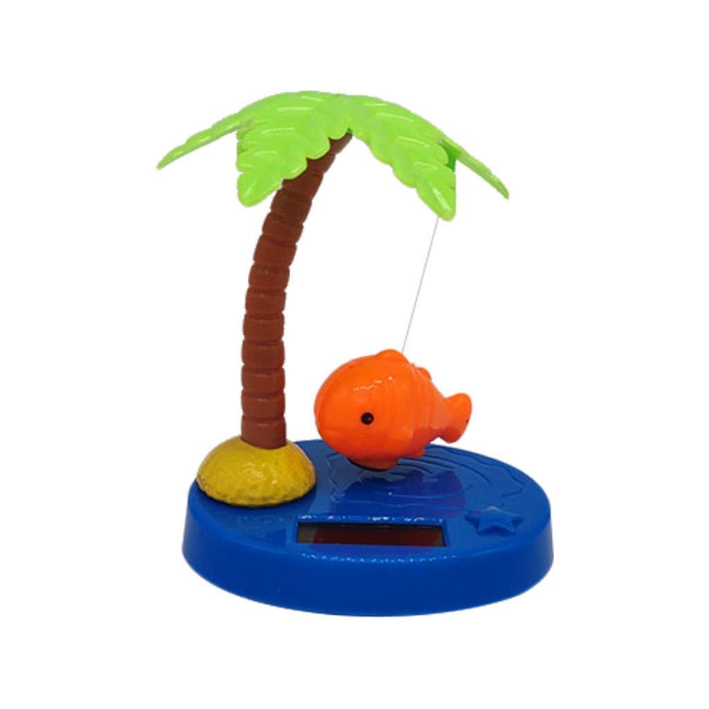 GXOK Mini Solar Powered Swinging Cute Decoration for Car Decoration,Shaking Head Decoration Dancing Flower Swinging Animated Dancer Toy Car Decoration Sun Flower Decoration Toy