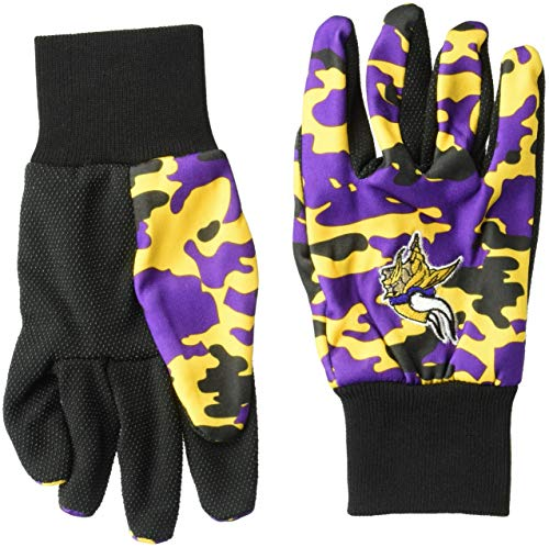 Minnesota Vikings Glove (Minnesota Vikings Utility Glove - Camouflage)