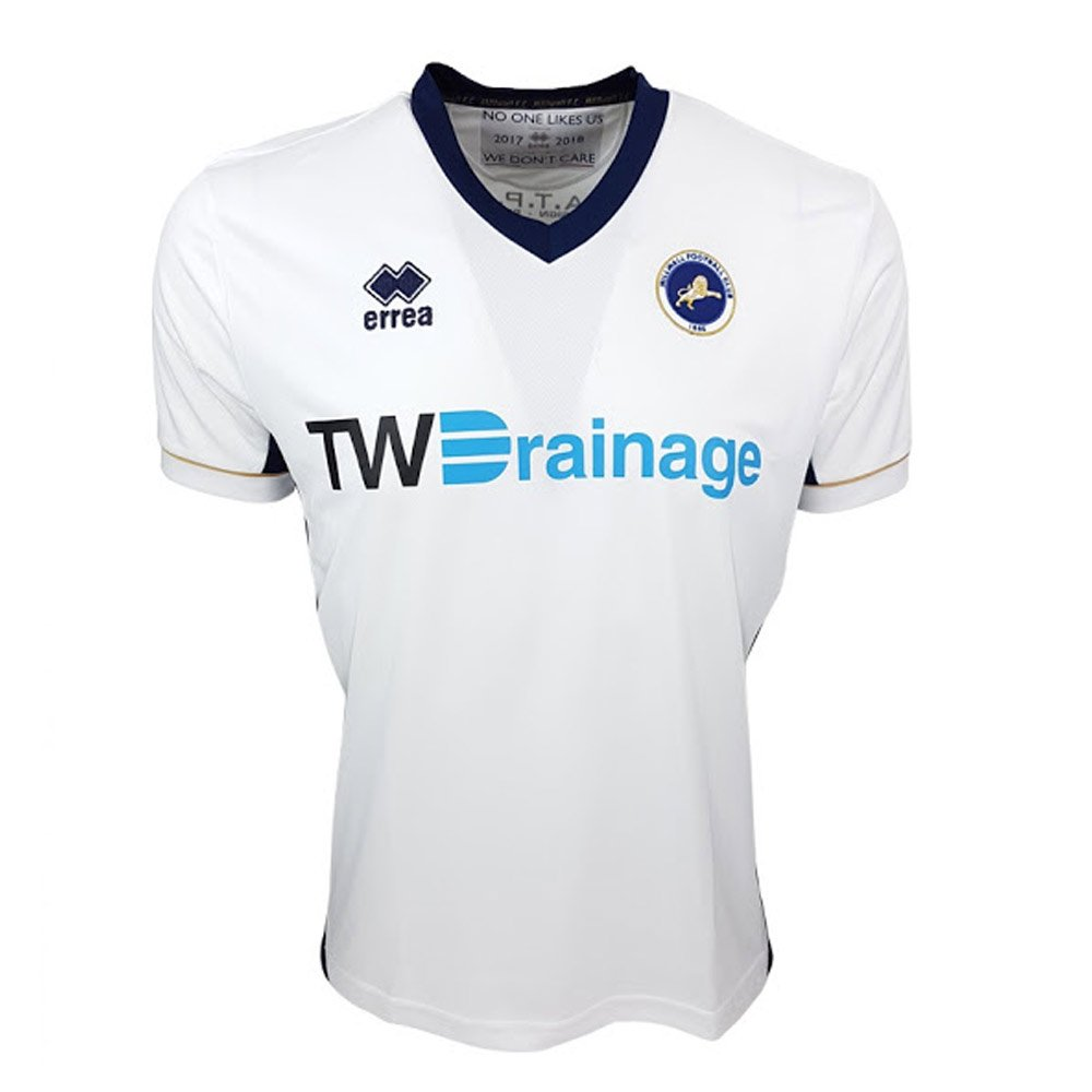 21a457a8199 Errea 2017-2018 Millwall Away Football Soccer T-Shirt  Amazon.co.uk  Sports    Outdoors