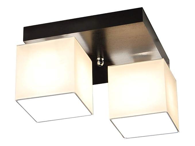 Plafoniere Per Tetto In Legno : Plafoniera illuminazione a soffitto in legno massiccio lls221d