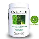 INNATE Response Formulas - Complete Multi Powder, Multivitamin Support for Immunity and Cardiovascular Health, 30 Servings (195 grams)
