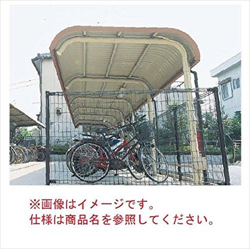 自転車置き場 ヨド物置 YOR-280B 基本棟 『公共用 サイクルポート 屋根』 ライトブラウン   B00RXJ060K
