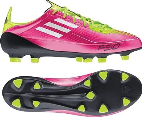 humedad apuntalar Alojamiento  adidas F50 Adizero TRX FG W (Syn) tamaño 7 (Rosa/Blanco/Verde): Amazon.es:  Deportes y aire libre