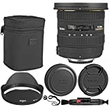 Sigma 10-20mm f/3.5 EX DC HSM Autofocus Zoom Lens For Canon Cameras + Lens Cleaning Pen + Lens Cap Holder – Ultimate Deluxe Accessory Bundle
