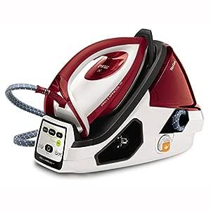 Tefal GV9061 Pro Express Care Yüksek Basınçlı Buhar Kazanlı Ütü, Kırmızı ve Beyaz