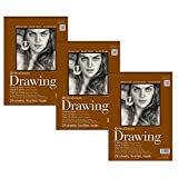Strathmore 400-5 400 Series Drawing Pad, 11''x14'' Wire Bound, 24 Sheets (3 Pack)
