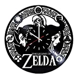 Everyday Arts The Legend of Zelda Video-Game Series Vinyl Record Wall Clock - Get Unique Bedroom or Garage Wall Decor - Gift Ideas for Friends, Brother - Darth Vader Unique Modern Art