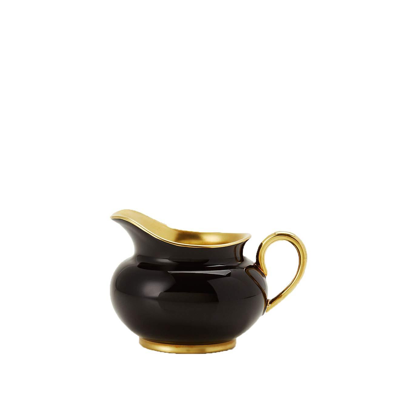 Haviland Laque de Chine Creamer (Black)