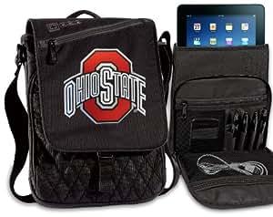 OSU Buckeyes Tablet Bag Ohio State Ipad Shoulder Bag NCAA