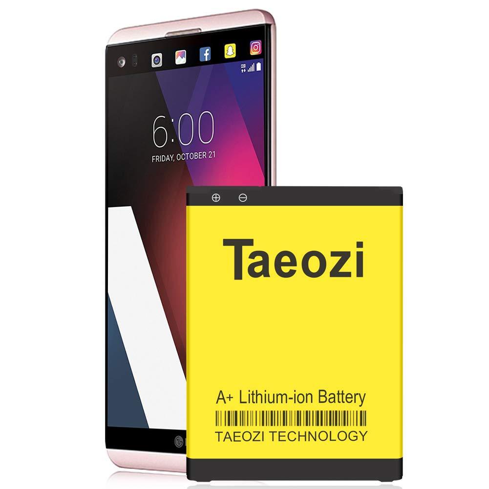 LG V20 Battery, Upgraded Taeozi 3300mAh Extended Slim Replacement Battery BL-44E1F for LG V20 US996, H910, H918, VS995, LS997 V20 Spare Battery [ 18 Month Warranty ]