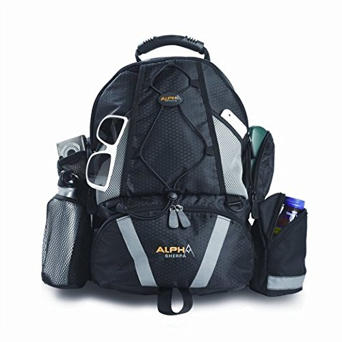 Baby Sherpa Diaper Backpack, Alpha ()