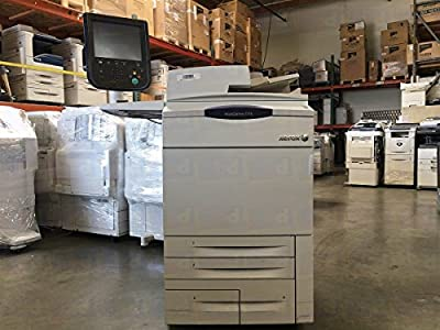 Refurbished Xerox WorkCentre 7765 Color Multifunction Printer - 65ppm, Copy, Print, Scan, Auto-Duplex, 2 Trays, High Capacity Tandem Tray
