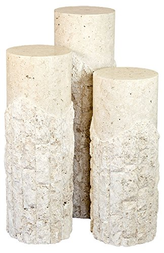 Stickbase Ltd Medium Embus Pedestal Fine Mactan Stone