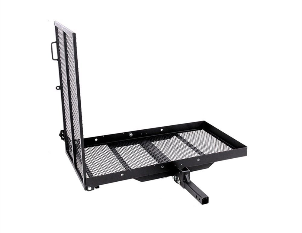 Mobility Carrier Wheelchair Scooter Rack Disability Medical Ramp Hitch Mount Steel New by T-Foot (Image #1)